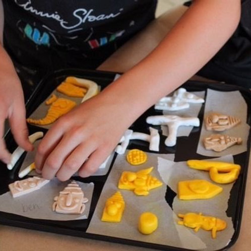 Kids Play With Clay - Wednesday March 18 - 9AM-12PM