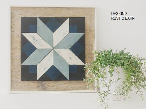 Rustic Barn Quilts - Tuesday October 8 - 6pm