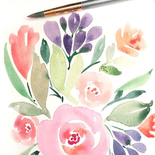 Botanical Watercolour w/ Koe Design Studio - Sunday March 1 - 1pm
