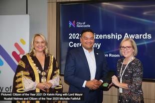 Upstanding Novocastrians honoured at award ceremony
