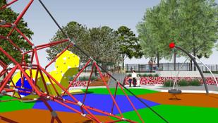 Playground works underway at Morisset's Bernie Goodwin Memorial Park