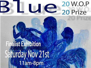 Blackstone Gallery Debuts BLUE Works On Paper Prize Exhibition