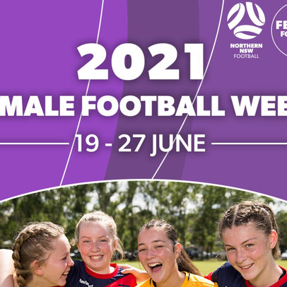 Networking evening to headline Northern NSW Football's 2021 Female Football Week