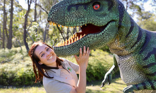 Dinosaurs Alive! School holiday fun at the Australian Reptile Park