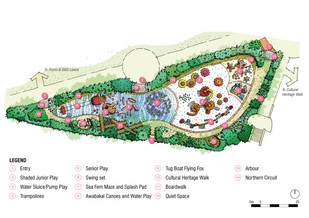 Concept for new Foreshore Park open for feedback