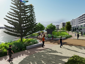 HCCDC Starts Construction On Next Two Hectares of Public Domain