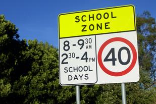 School zones enforced as Lake Mac kids head back to the classroom