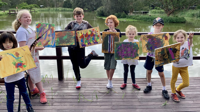 Creative Kids at the Wetlands!