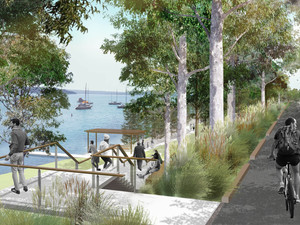 Bright future planned for Toronto Foreshore