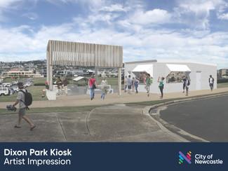 Work commences to breathe new life into Dixon Park Kiosk