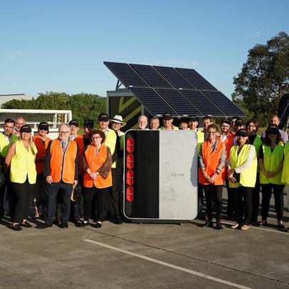 European Delegates Get Sneak Peek At World's First Domestic Hydrogen Battery Developed In The Hunter