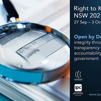 Right to Know Week NSW – Open by Design