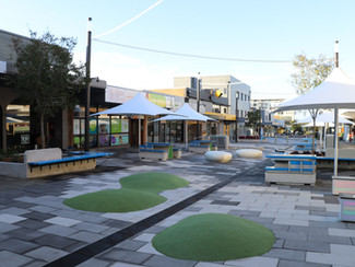 Smart mall lights up heart of Charlestown