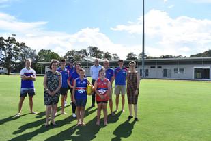 New sporting facilities boost play at Warners Bay