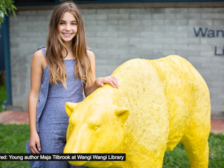 Short stories help young Lake Mac authors Go Wild