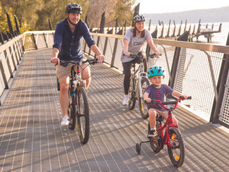 Well-being and better connections drive Lake Mac walking and cycling vision