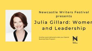 Julia Gillard in Newcastle