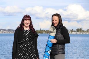 Lake Mac innovation: casting fishing waste to furniture