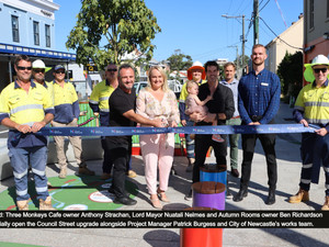 Council Street, Cooks Hill unveiled after $6 million overhaul