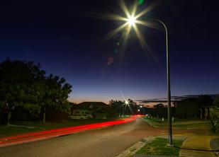 LED streetlights brighten Lake Macquarie