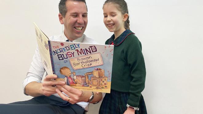 Bishop Tyrrell Author Teaches Children to Celebrate Uniqueness