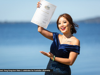 All smiles as 22 new citizens welcomed at Citizenship Ceremony in Lake Macquarie
