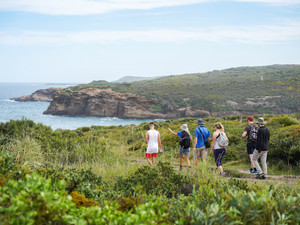 New guided coastal hikes reveal Lake Mac's spectacular wilderness