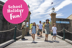 ALL ABOARD the School Holiday Express!