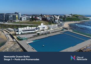 Newcastle Ocean Baths pool designs finalised