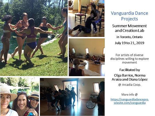 E-poster 1  Vanguardia Summer LAb Toront