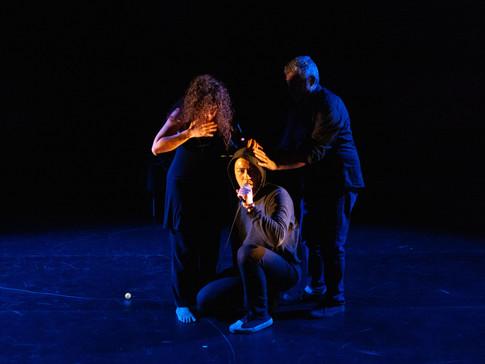 Triangle collective- Coman Poon, Edgardo Moreno, Olga Barrios