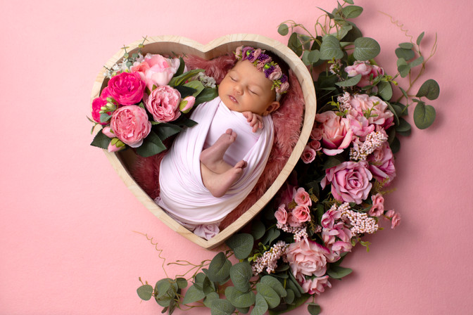 Shooting photo naissance -Aina