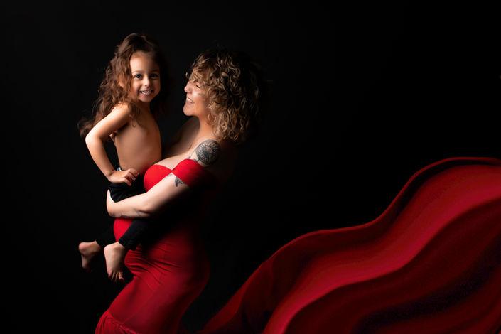 seance photo grossesse en famille essonne