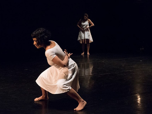 Two Women -Alejandro Ronceria (Choreographer) Irma Villafuerte y Olga Barrios (dancers)