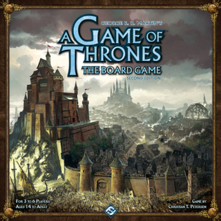 A Game of Thrones - The Board Game (Second Edition)
