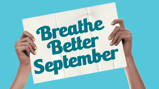 Breathe Better September - Exercise for respiratory conditions.