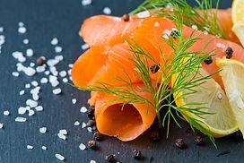 Smoked Salmon with Lemon and Dill select