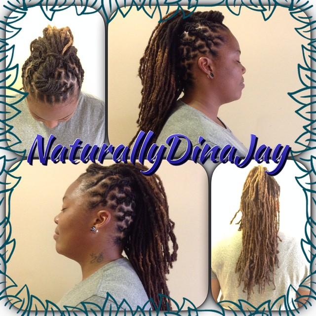 #locs #longhairstyles #dmv #dennaj #dinajay #naturalhair #mohawk #hnsnaturals