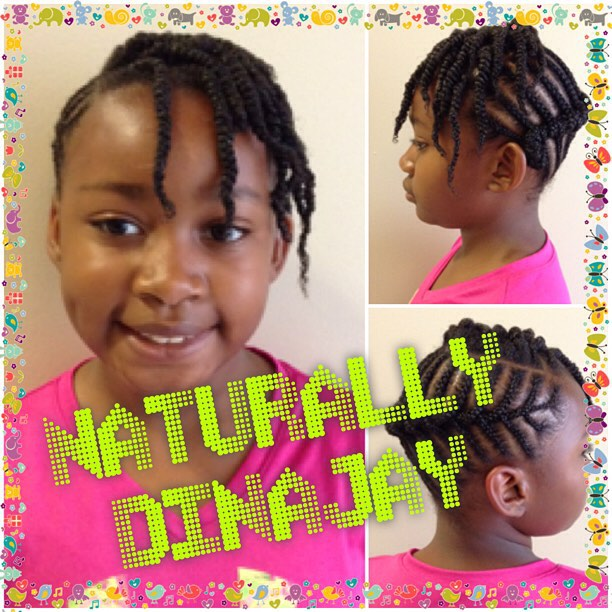 Back to school time! #dinajay #hnsnaturals #dmv #kids #children #kidshairstyles #cornrows #healthyha