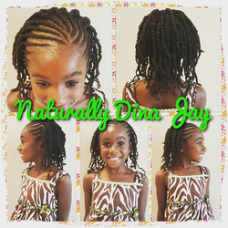 Just look at that smile! #naturalhair #naturallydinajay #flattwist #twostrandtwists #childrensstyles