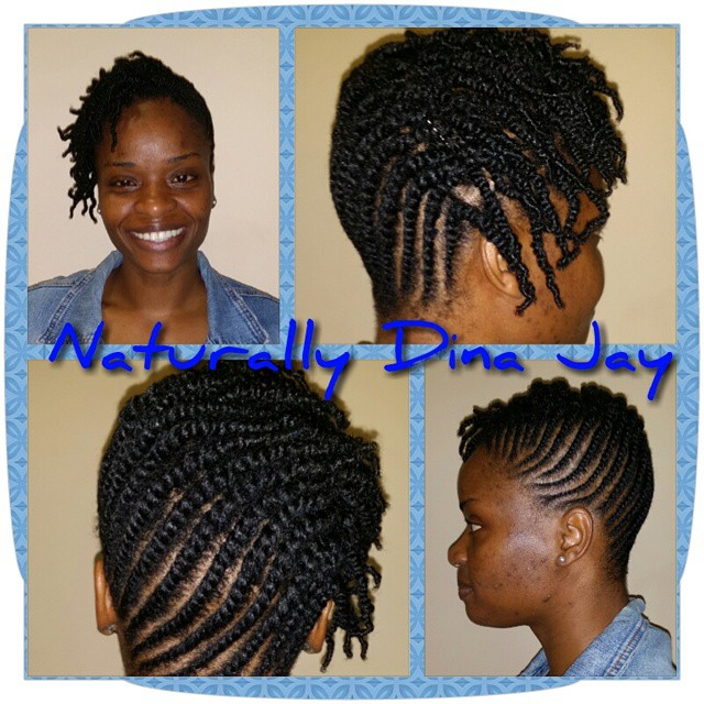 Flat twist two strand twists combo #naturalhair #hnsnaturals #dennaj #dinajay #dmv #updo #wedding #w