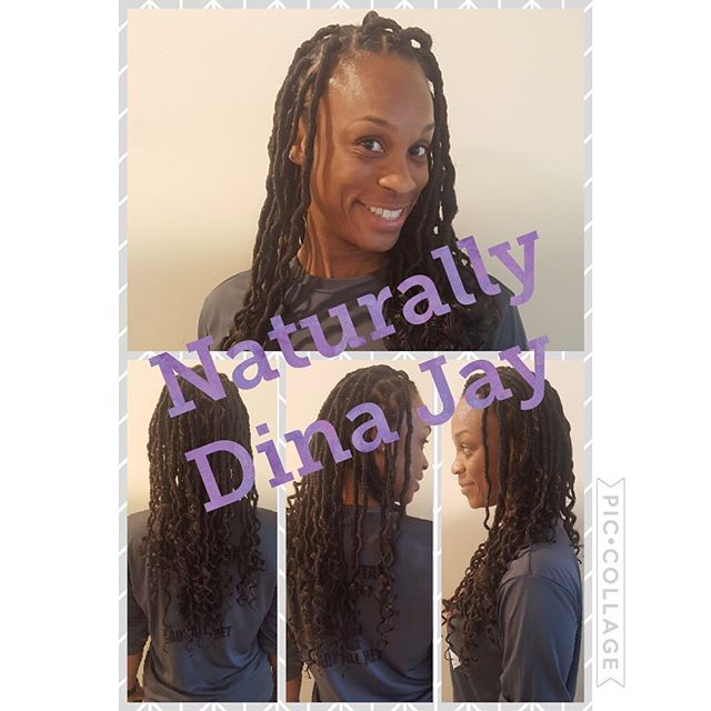 Looks like another happy client! #dinajay #crotchetfauxlocs #crotchetstyles #crochetbraids #dmvhairs