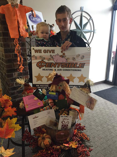 Thanksgiving Basket Give-Away Winner