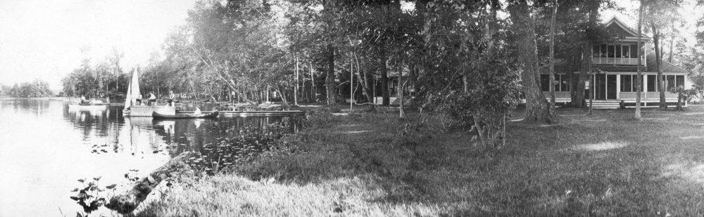 The Gardiner Cottage on Maple Island