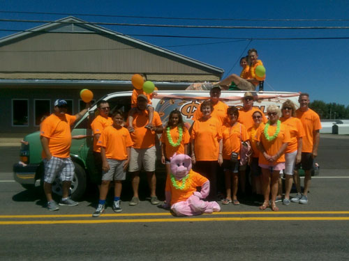 Coloma Glad Peach Festival Parade