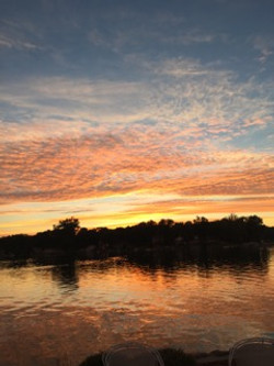 Magician Lake sunset 2