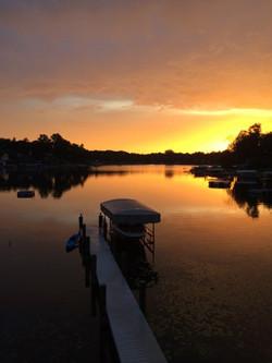 Magician Lake sunset