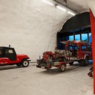 Arch. Bergmeister Wolf Feuerwehrhalle Margreid (BZ)