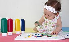 Sensory stimulation in infants, fine mot