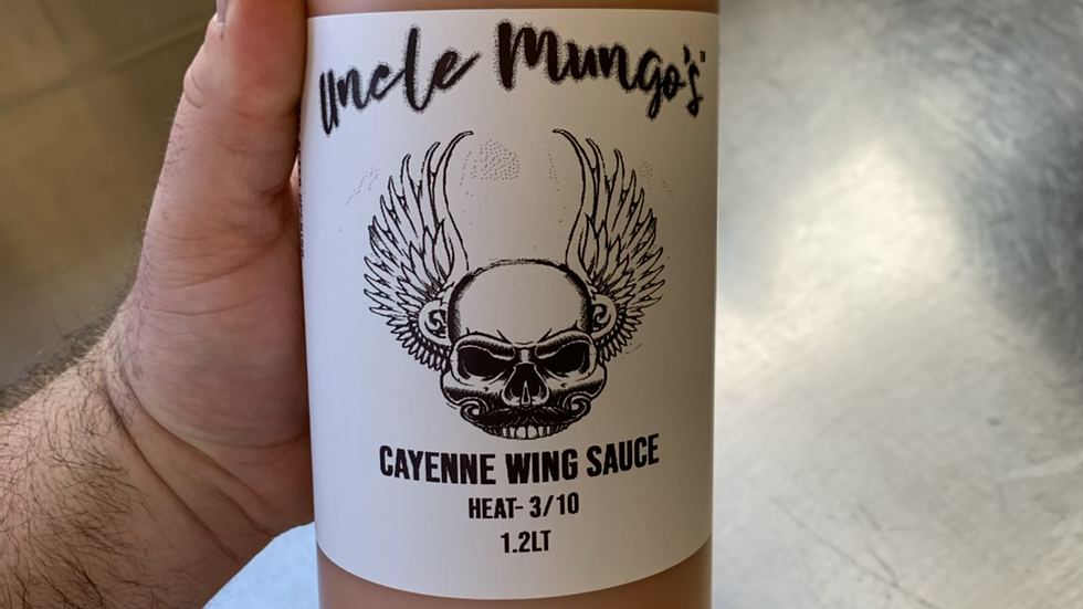 Cayenne Wing Sauce